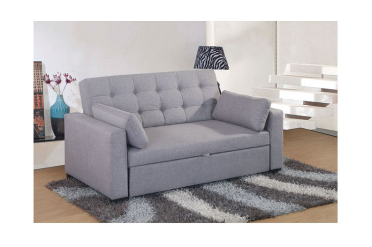 Loft Sofa Bed 2 Seater Grey