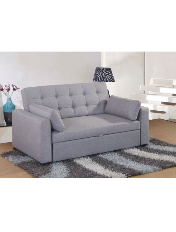 Loft Sofa Bed 2 Seater Grey Living Emporium