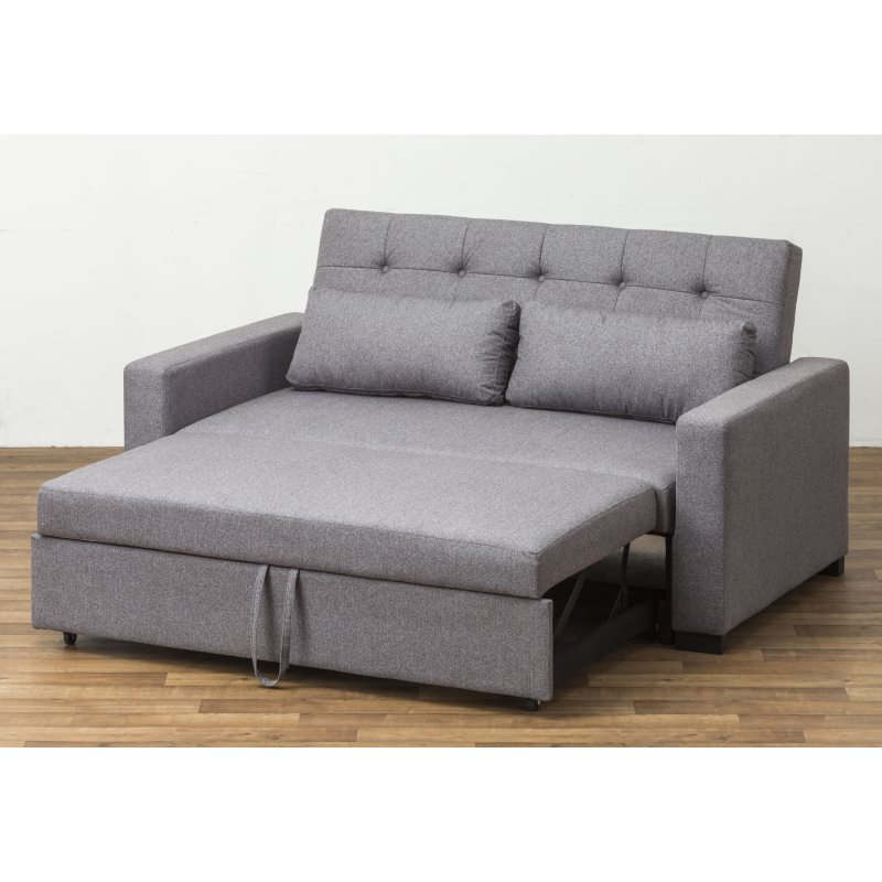 Loft Sofa Bed 2 Seater Grey - Living Emporium