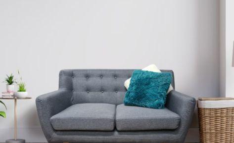 Scandi Sofa 2 Seater Dark Grey