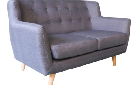 Scandi Sofa 2 Seater Dark Grey