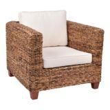 Nova Abaca Armchair with Cream Cushion
