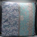 Casa Rosso Vintage Blue Paisley Cushion 60cm