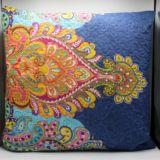 Casa Rosso Vintage Indian Bright Cushion 60cm