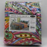 Casa Rosso Vintage Indian Bright Pillowcase pk2