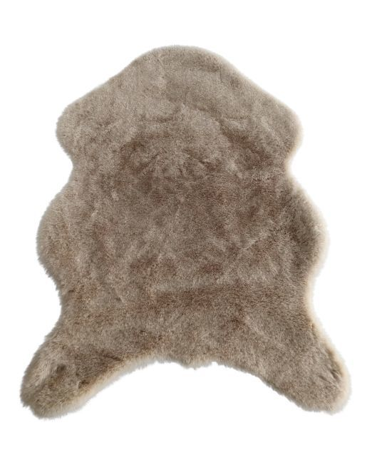 985828 - CR LAPIN RUG TAUPE 60X90CM