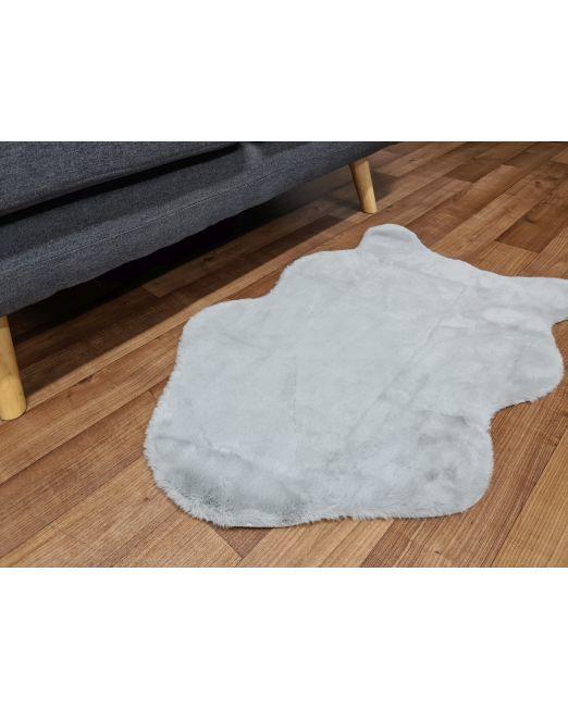985830 Lapin Rug Grey 60x90cm (2)