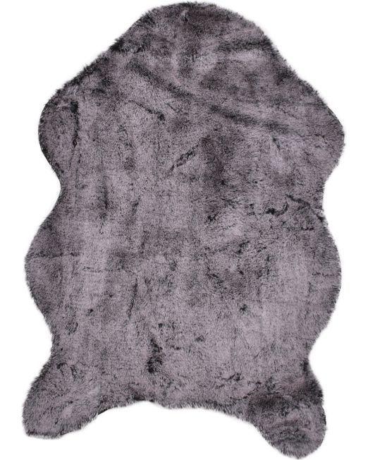 985832 Lapin Rug 2 Tone Black Grey 60x90cm2
