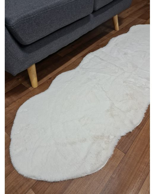 985838 Lapin Peanot Rug Ivory 60x180cm