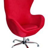 Hydro Chrome Chair Red