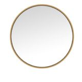 Gold Circle Mirror 60cm