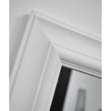 Torrik Plain Profile Matt White Mirror 41 x 131cm