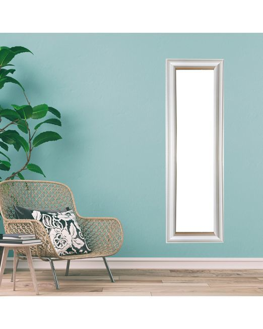 850152 Plain Profile Matte White Mirror