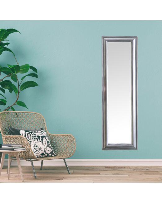 850153 Plain Profile Antique Silver Mirror