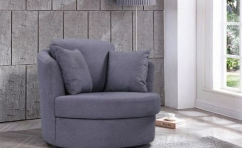 Swivel Chair Pegasus Grey