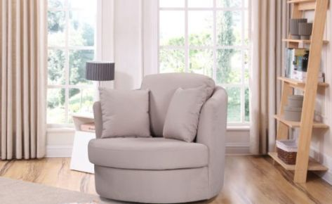 Swivel Chair Pegasus Cream