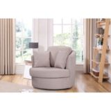 Swivel Chair Pegasus Cream