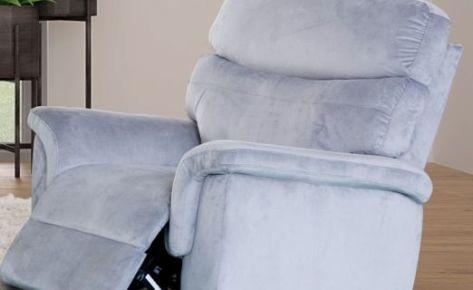 Surin 1 Seater Recliner Mist Grey