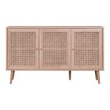Empire Buffet with Rattan Weaving