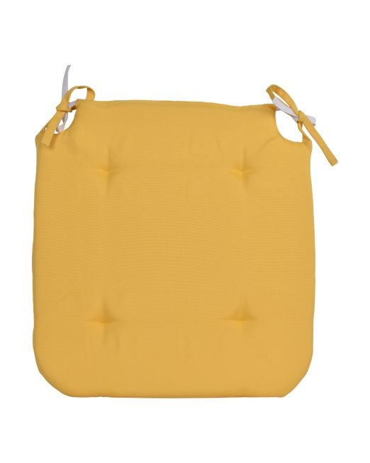 669067 LOLLY OUT CHAIRPAD YELLOW 42X39CM