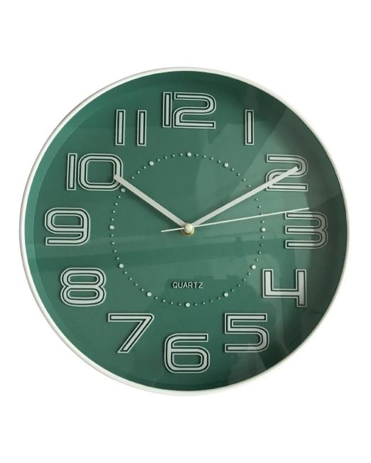 920449 Flynn Clock 30x30x4.3cm Teal