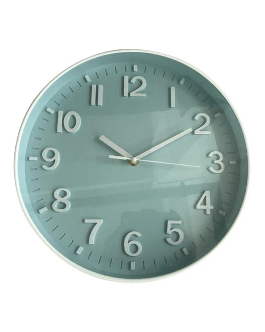 920452 Bayside Clock 30x30x4.3cm Blue