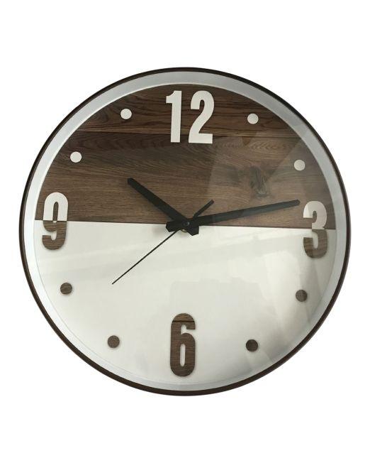 920455 Gabby Clock 30x4.3cm Vaneer