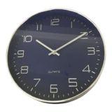 Oscar Clock Navy/Silver