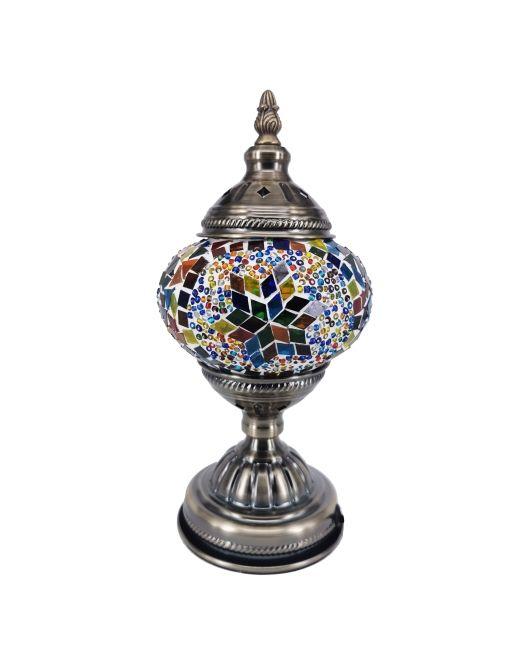 571452 Lamp Turkish 14x28cm 6 Asstd (1)