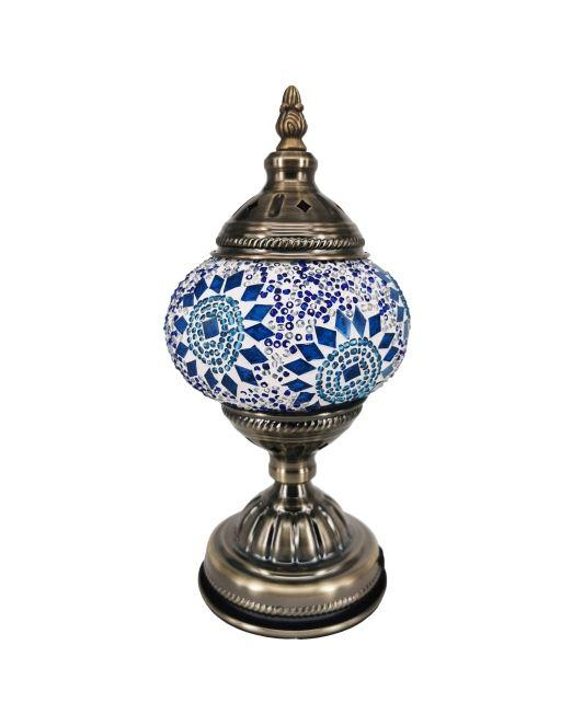 571452 Lamp Turkish 14x28cm 6 Asstd (2)