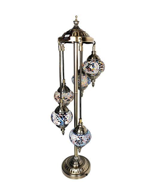 571630 FLR LAMP TUR 5HANG MULTI37X100
