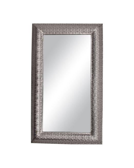 850190 Mirror Fillagree Silver 44x74cm