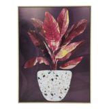 Frame Canvas Foliage Blush