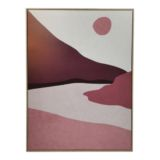 Frame Canvas Seascape Blush
