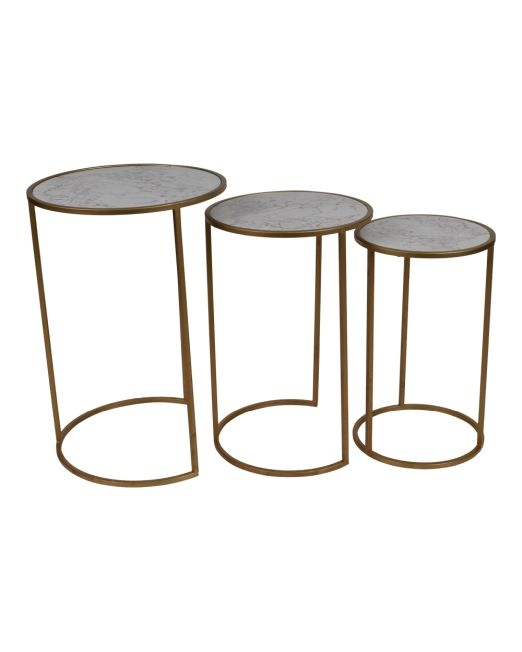 972004 TABLES GOLD&MARBLE LOOK TOP S3 (3)
