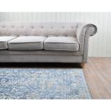 Castello Rug Persian Blue Velvet