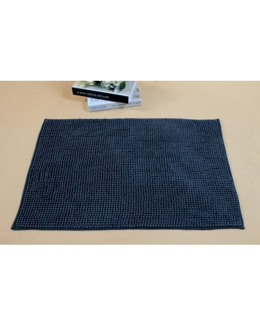 036101 - BATH MAT CHENILLE TOGGLE CHARCOAL GREY (1)