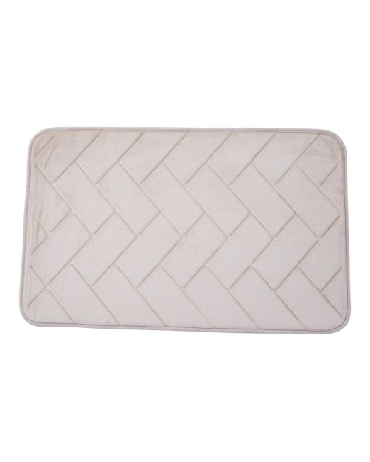 036105 - BATH MAT FOAM BRICKS BEIGE (5)