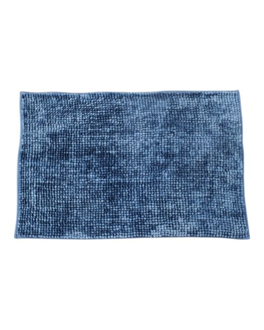 036117 - BATH MAT CHENILLE TOGGLE 2TONE AZURE BLUE (4)