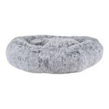 Mammoth Pet Bed 2 Tone Black / White 60cm