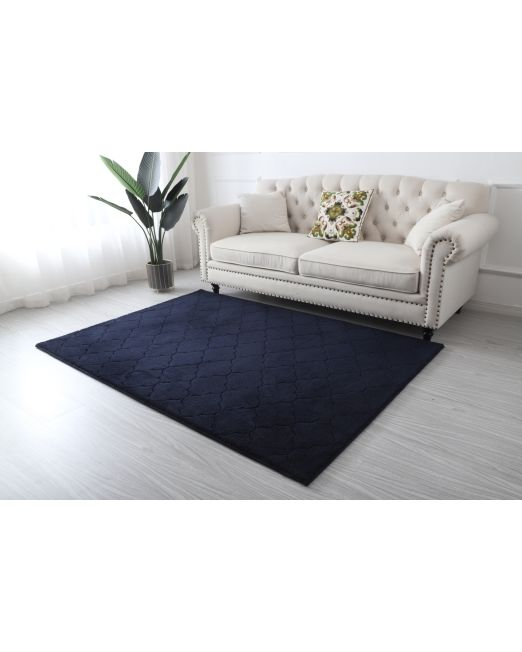 985956, 985957 - DIAMOND RUG MF CUT PATTERN DARK BLUE (3)