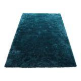 Hilton Rug Blue 140 x 200cm Deluxe Shaggy
