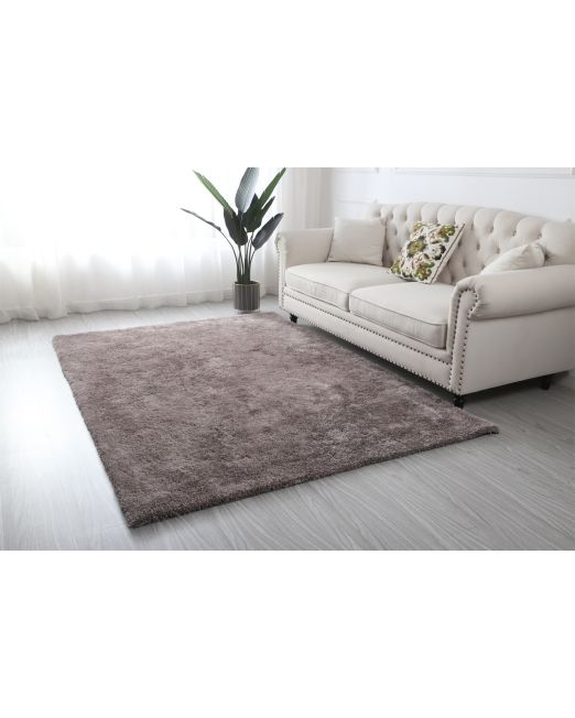985963, 985964 - HILTON RUG DELUXE SHAGGY TAUPE (2)