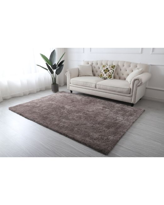 985963, 985964 - HILTON RUG DELUXE SHAGGY TAUPE (3)