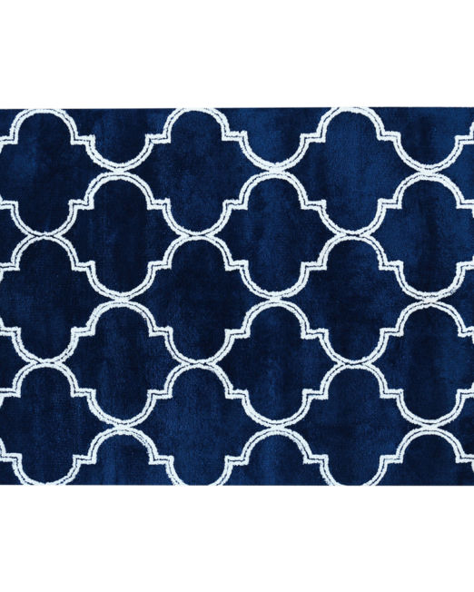 985969 - TRELLIS RUG TUFTED NAVY (1)