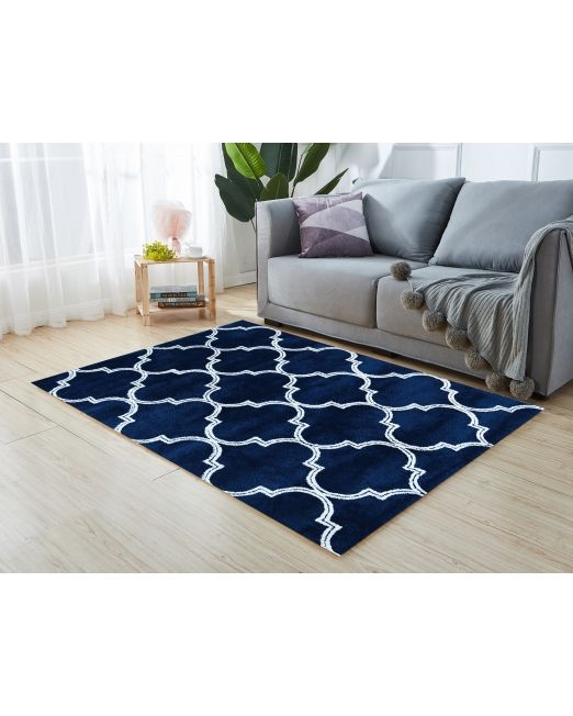 985969 - TRELLIS RUG TUFTED NAVY (3)