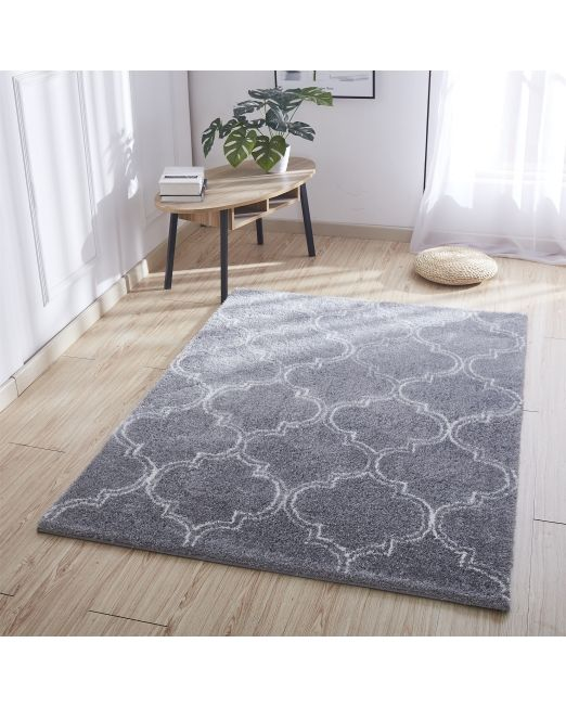 985970 - TRELLIS RUG TUFTED GREY (2)