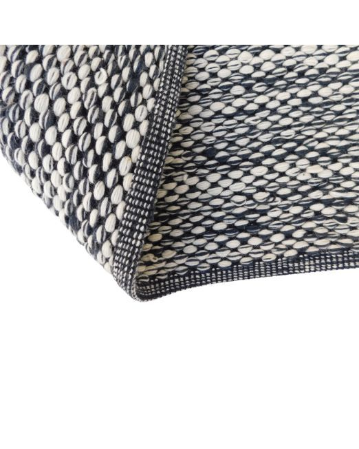 985982, 985983 Rug Bobble Grey Handwoven Flatweave (5)