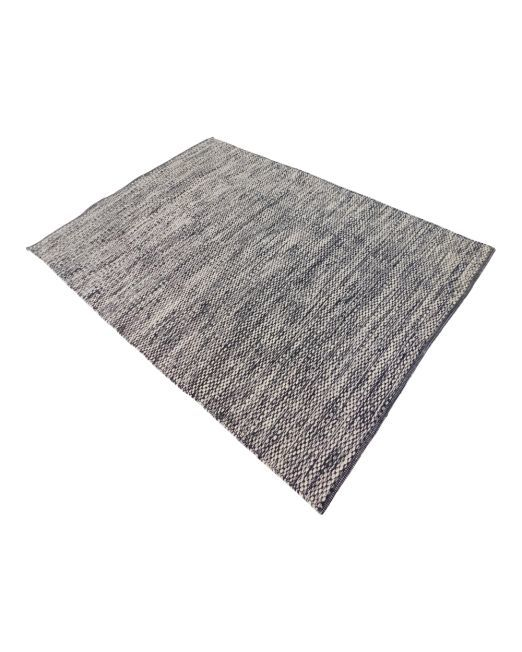 985982, 985983 Rug Bobble Grey Handwoven Flatweave (8)