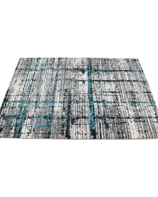 985910 SAPHIRE RUG 160X230 ABS TEAL
